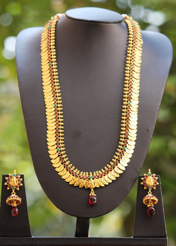 Gorgeous Polki Long Necklace Set