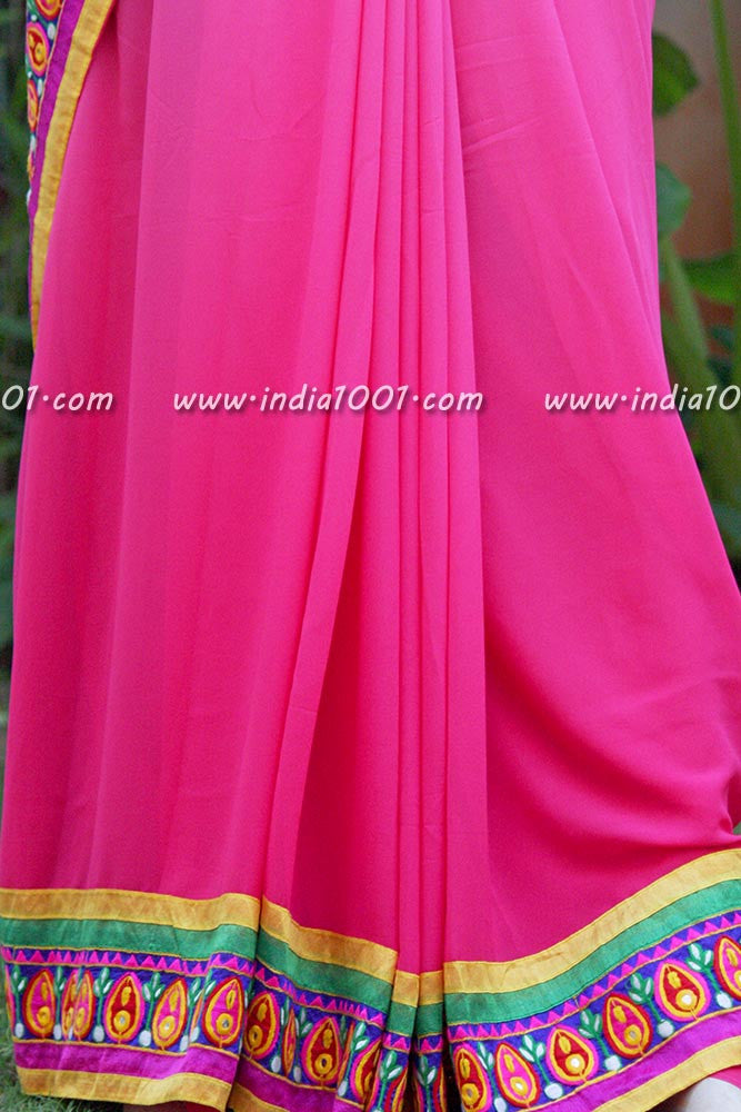 Designer Semi Georgette Saree