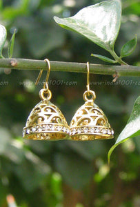 Elegant Jhumka with stones