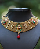 Stunning Polki & kundan Necklace Set