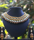 Stunning Kundan & Meenakari Necklace Set