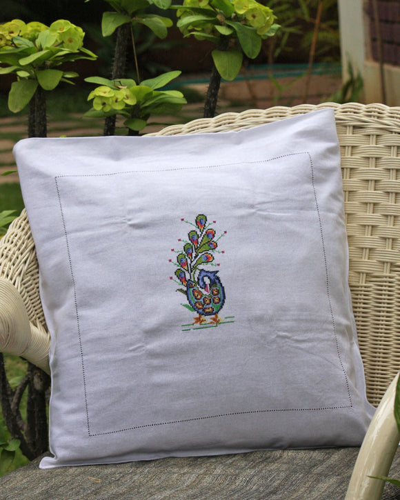 Cross Stitch Cushion Covers (2)