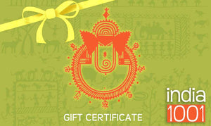 www.india1001.com Gift Certificate