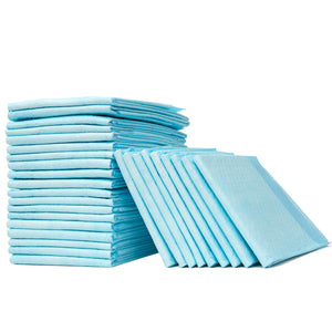 Disposable Bed Pads with Adhesive Strips for Elderly and Adults