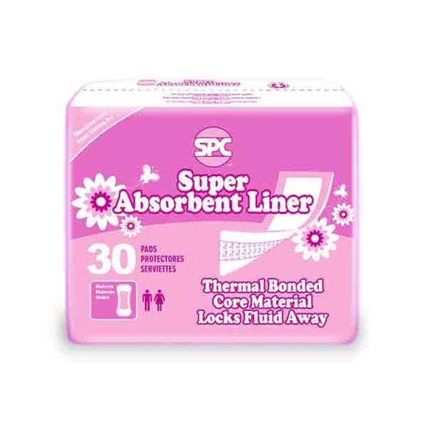 Super Absorbent Incontinence Panty Liners & Extra Absorbent Thin Incontinence Pads