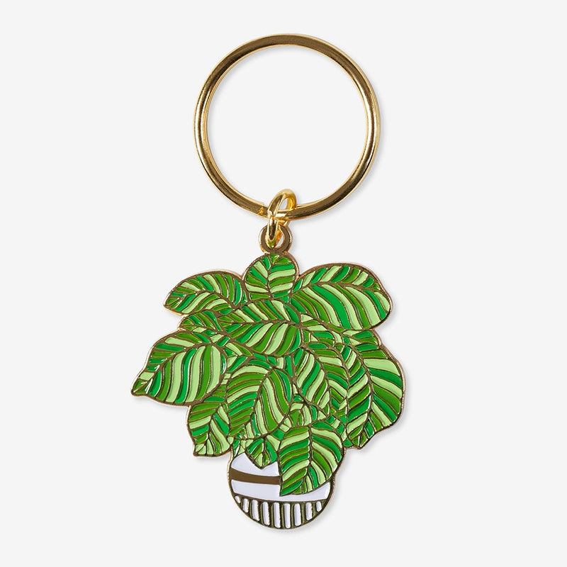 The Good Twin Plant Keychain