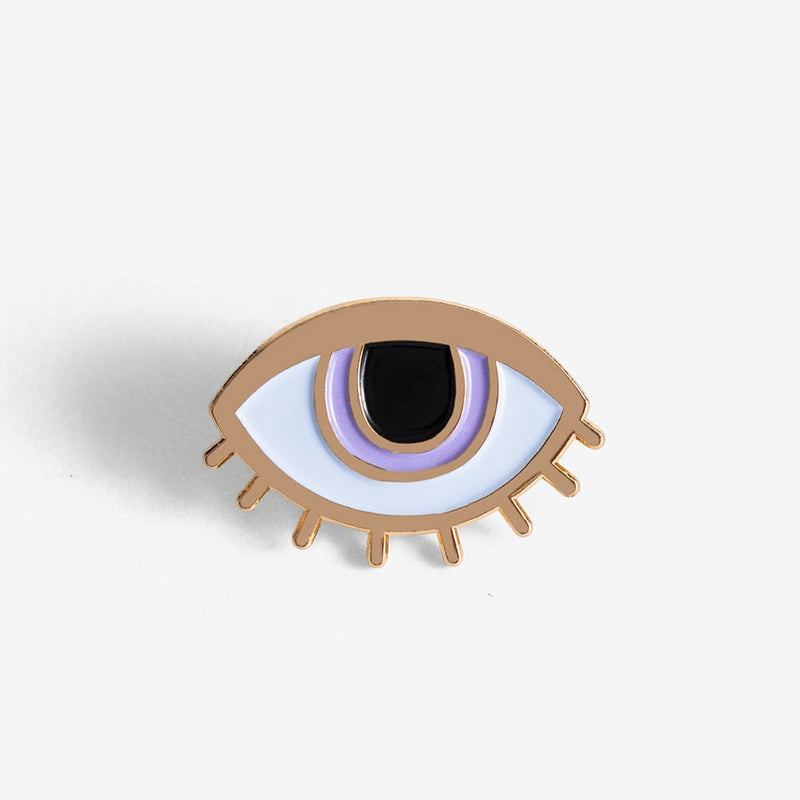 The Good Twin Eyeball Pin