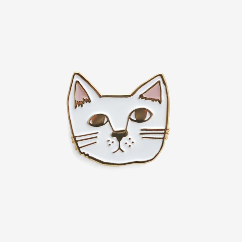 The Good Twin KitCat Pin