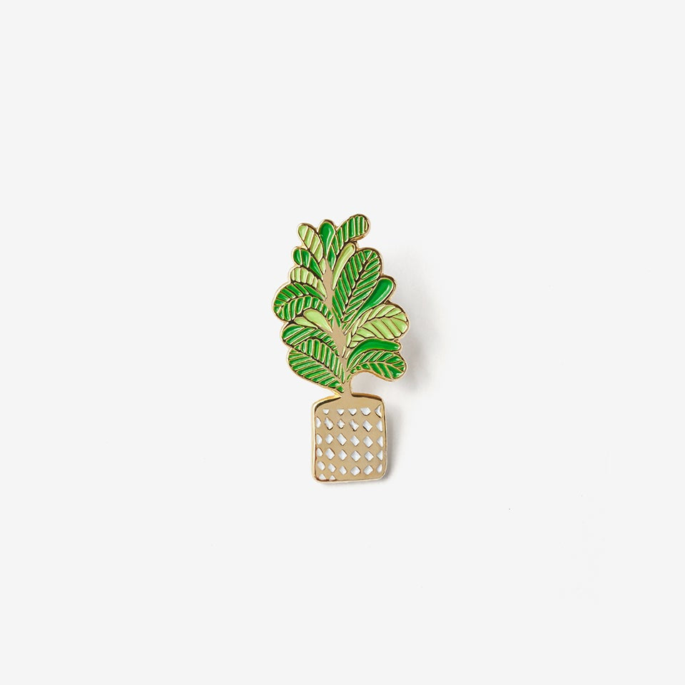 The Good Twin Plant Pin