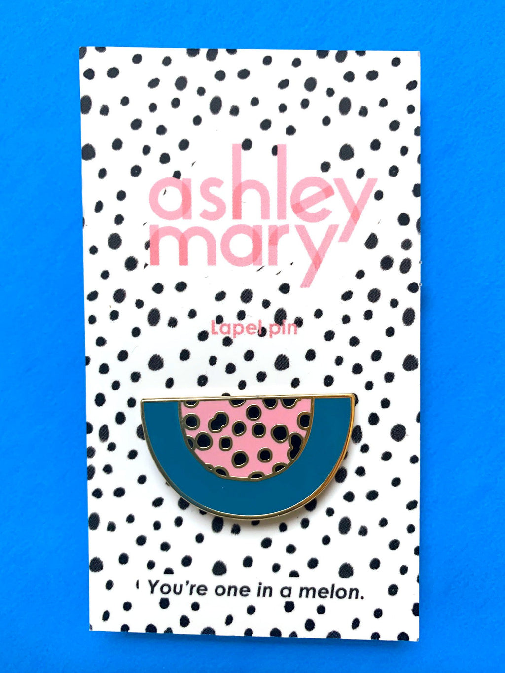 Ashley Mary Watermelon Pin