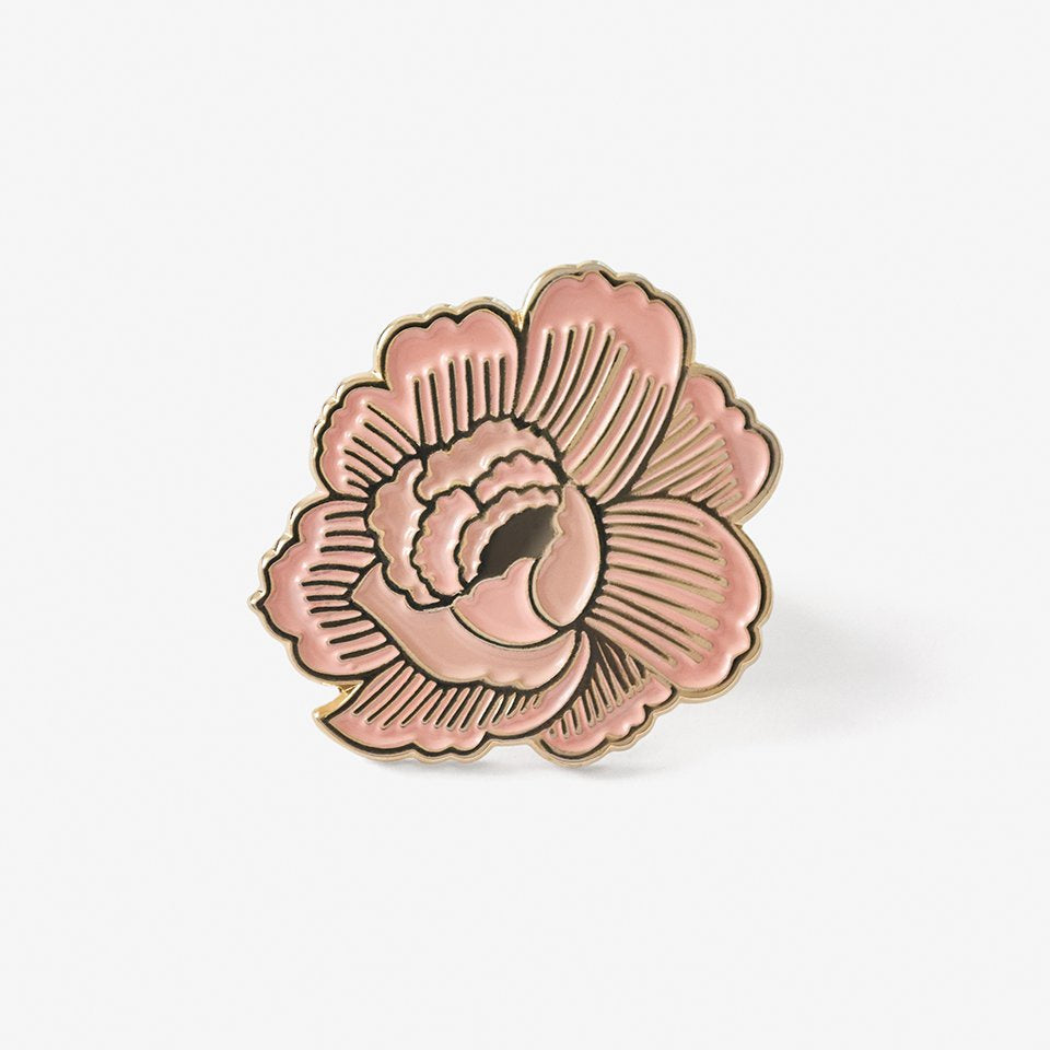 The Good Twin Flower Pin