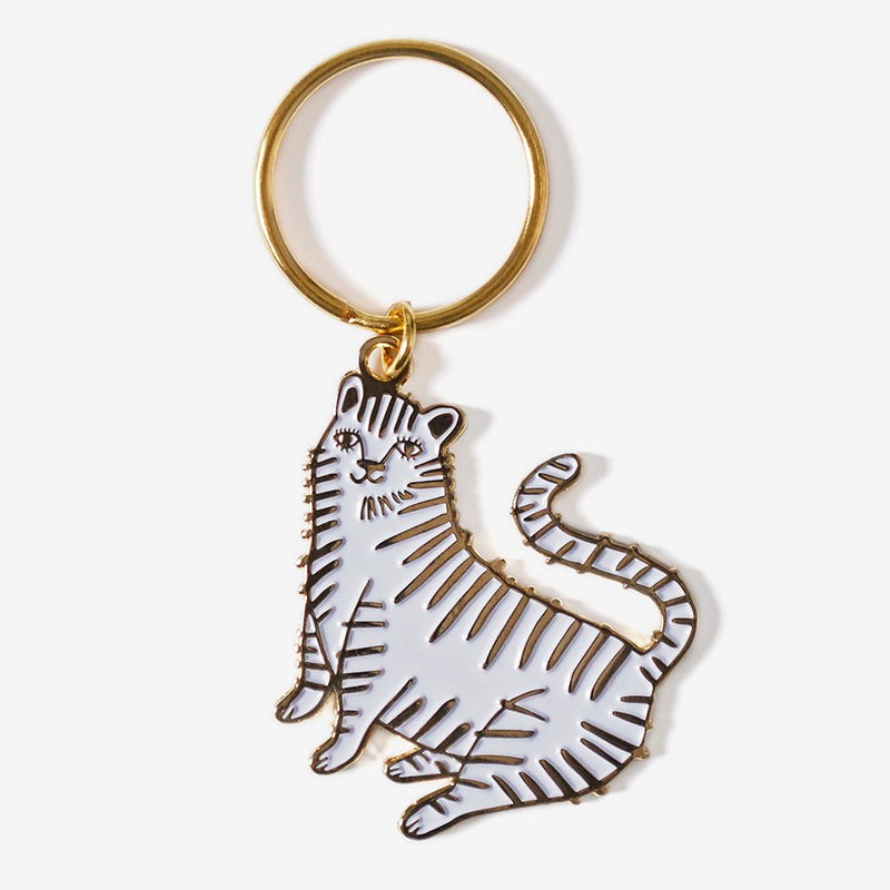 The Good Twin Tiger Keychain