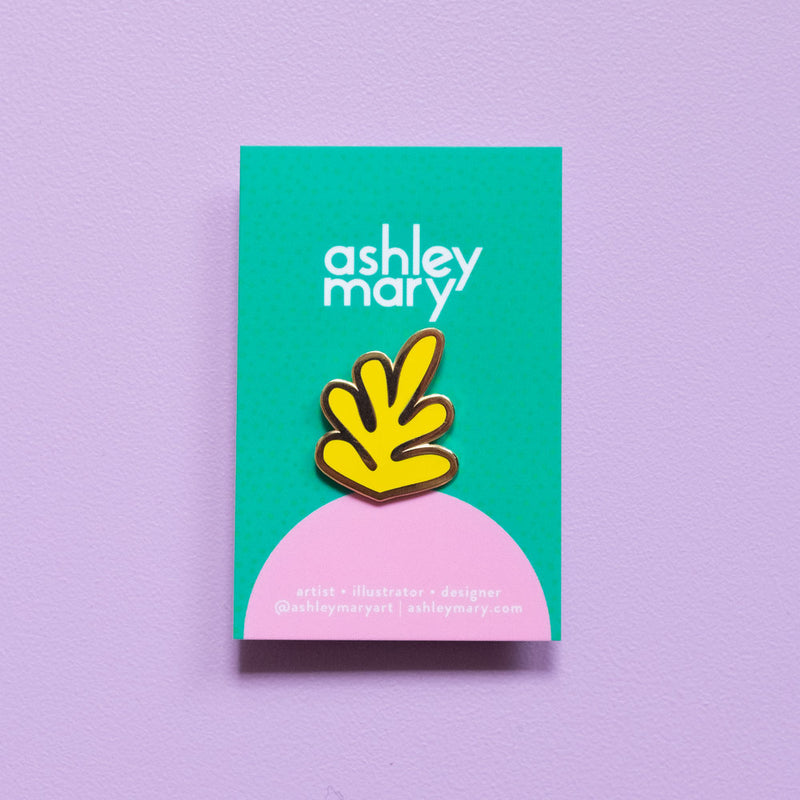 Ashley Mary Leaf Pin