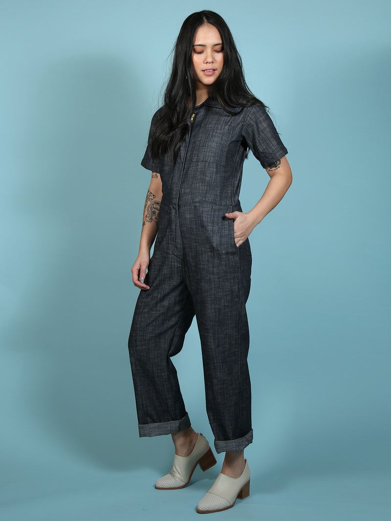 Coveralls Black Corduroy