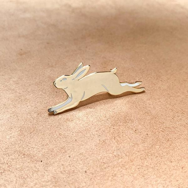 Eradura Golden Rabbit Pin