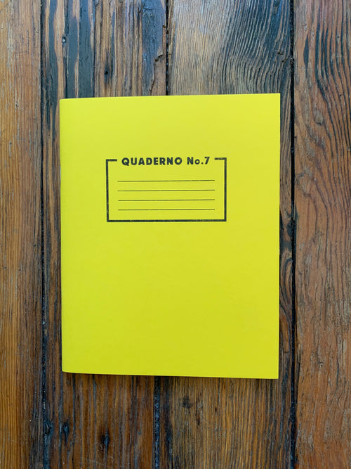Risotto Studio Yellow notebook