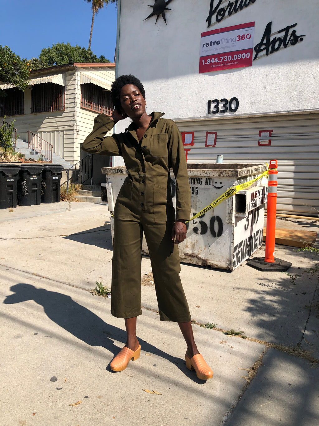World Domination Suit Olive Twill