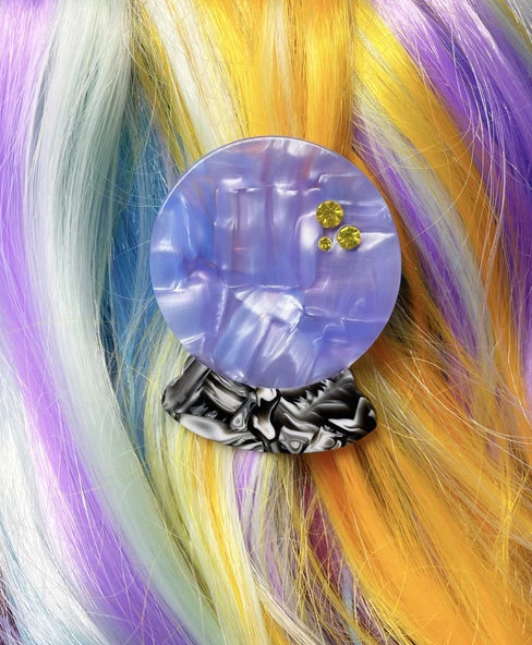 Sara M. Lyons Magic Snake acrylic hair clip