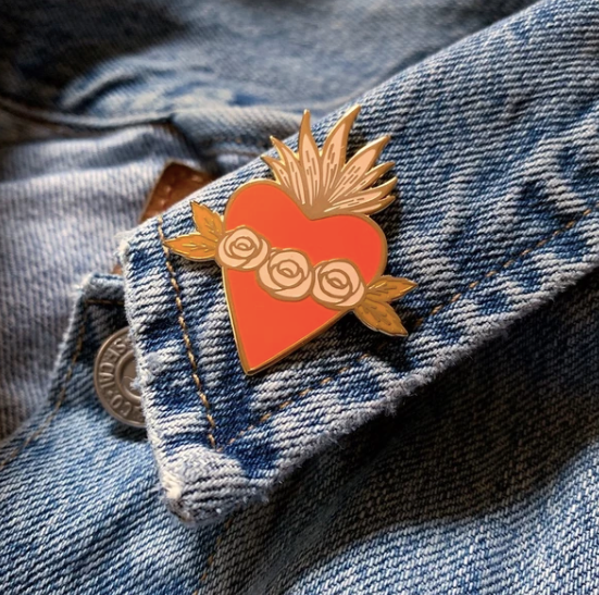 The Good Twin Sad Day Pin