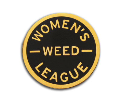 Word for Word Women's Weed League Pin