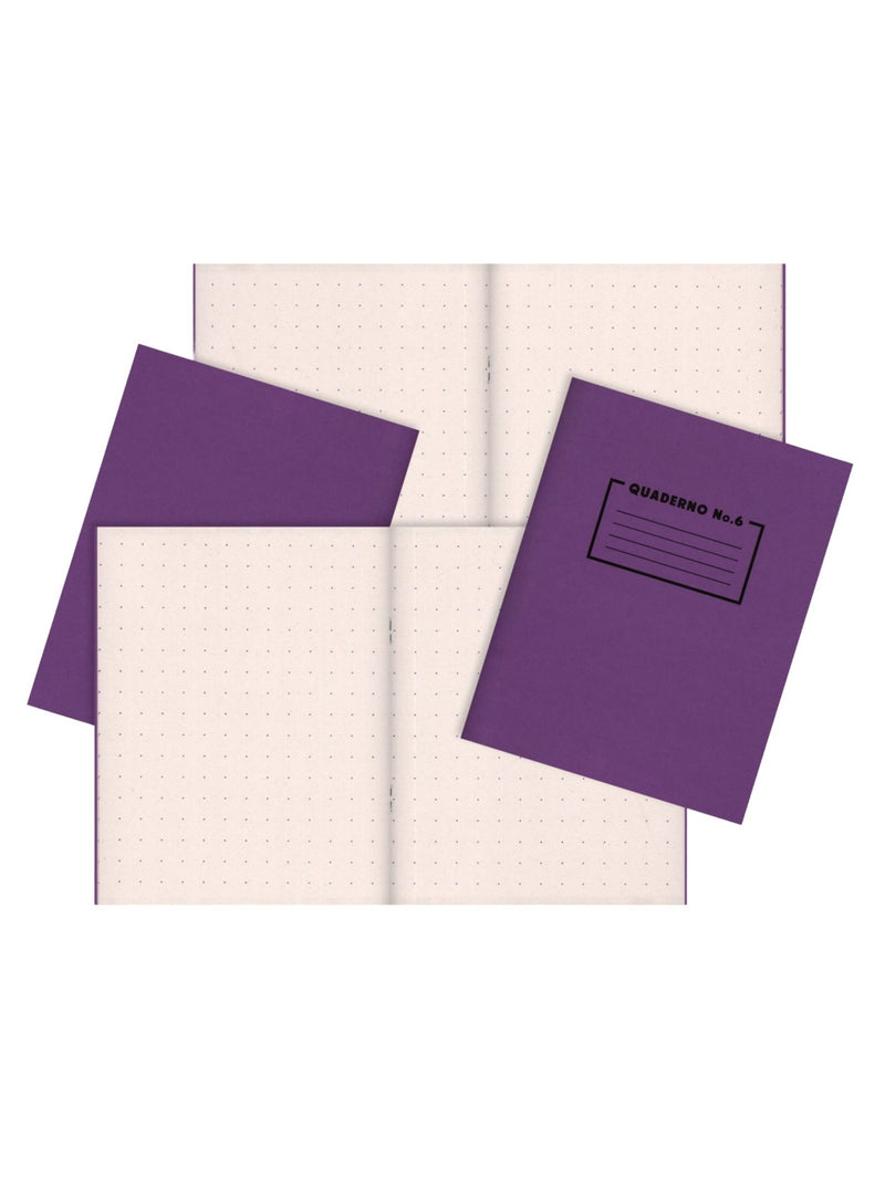 Risotto Studio Purple notebook