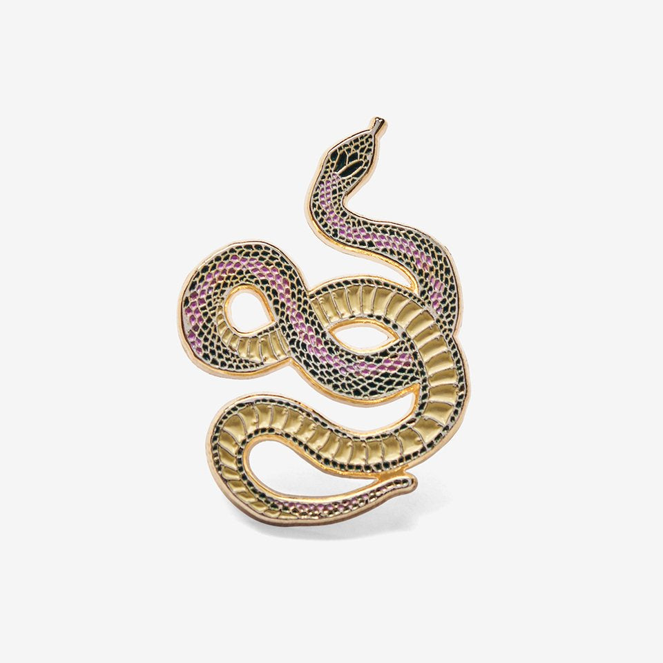 The Good Twin Snake Pin