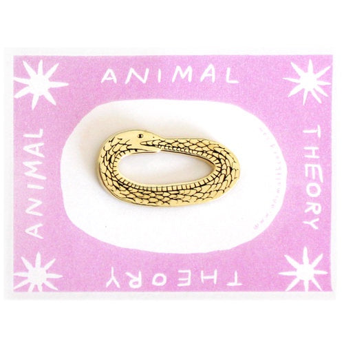 Animal Theory Snake Pin