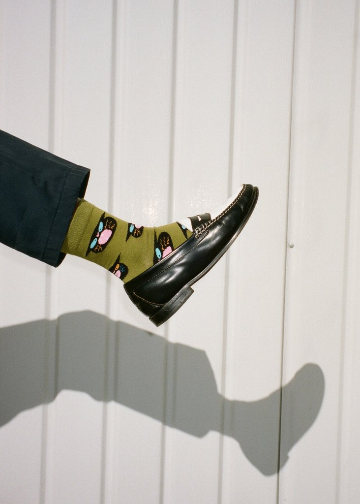 Gentle Thrills Alley Cat Socks