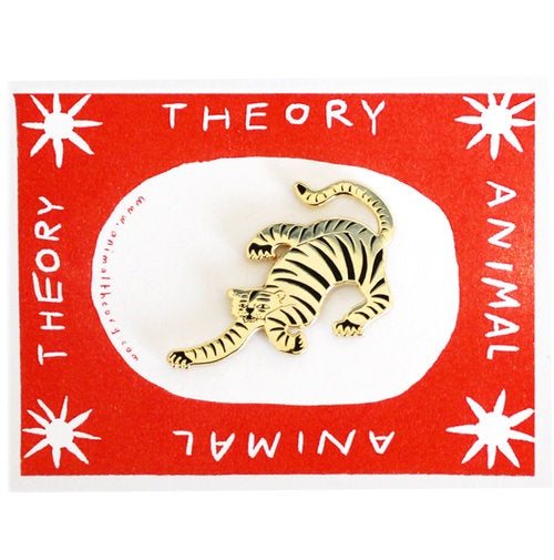 Animal Theory Tiger Pin