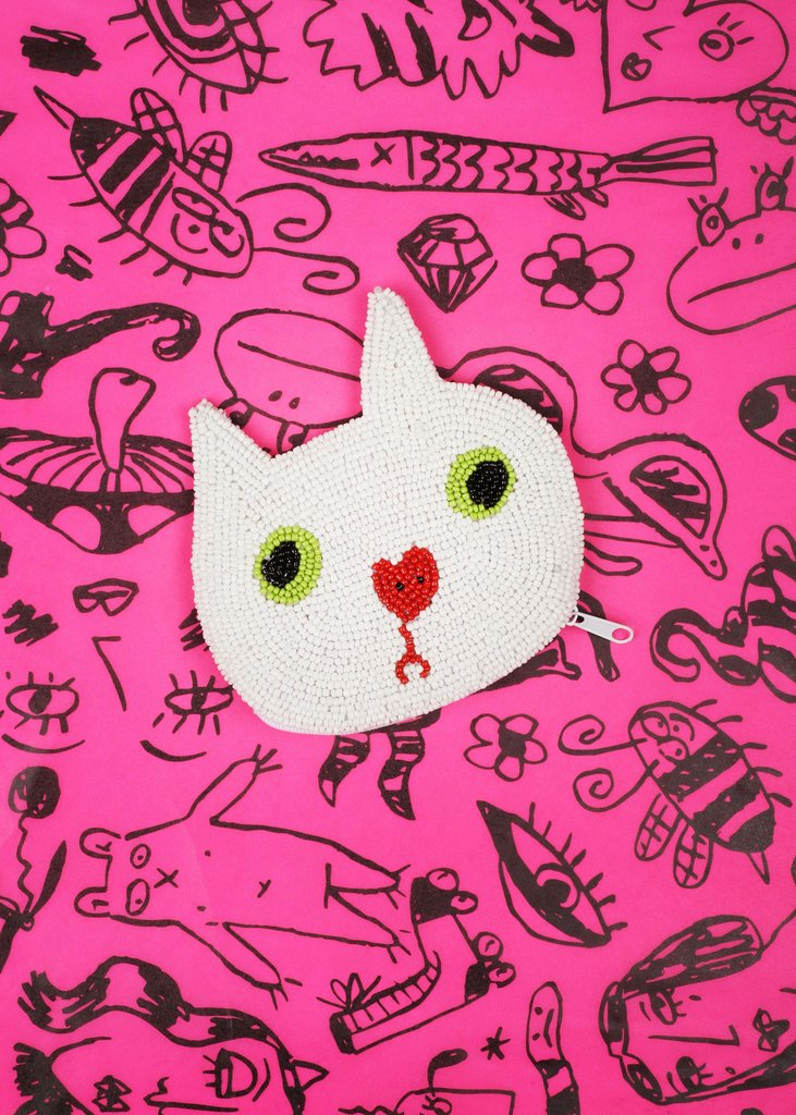 Gentle Thrills Kitty Coin Purse