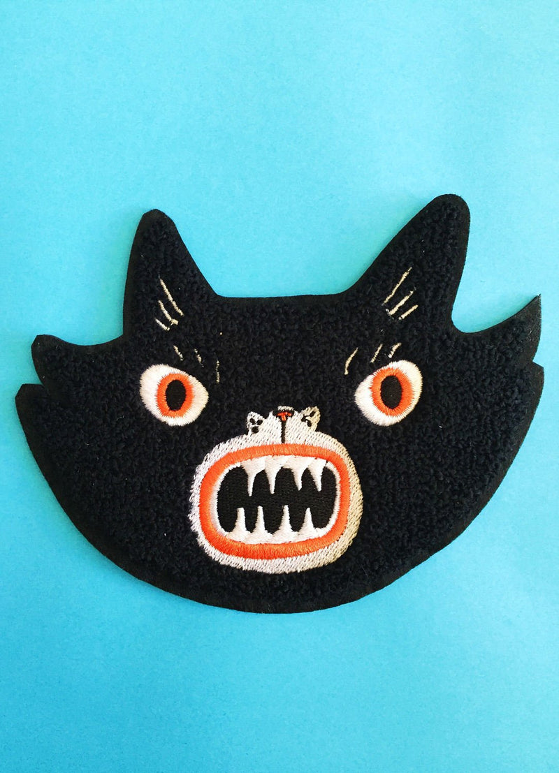 Kristina Micotti Chenille Cat Patch