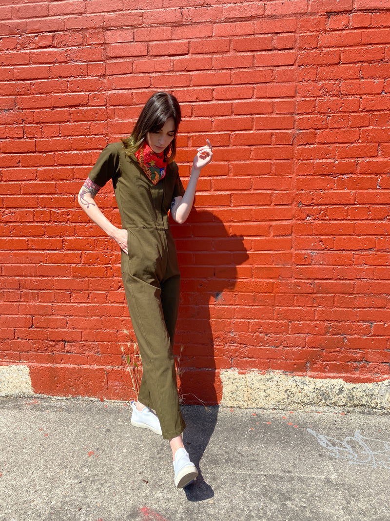 Coveralls Olive