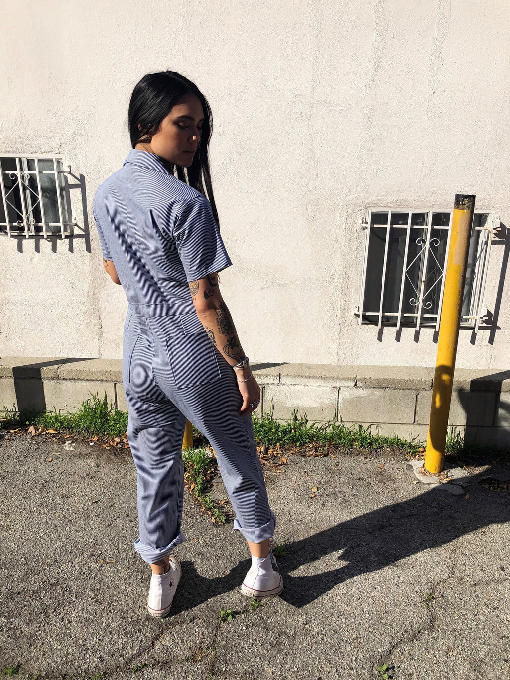 Coveralls Railroad Stripes