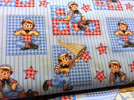 Raggedy Andy by Spx Fabrics
