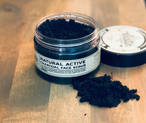 Detoxifying & Pore Minimizing Charcoal Face Scrub - Austin Collective