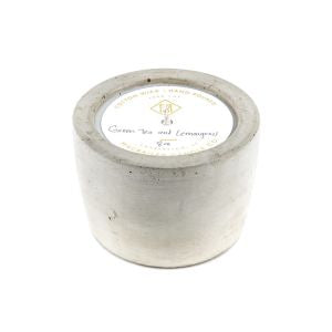 Concrete Candle - 8 oz- Natural- Grapefruit and Mangosteen - Austin Collective