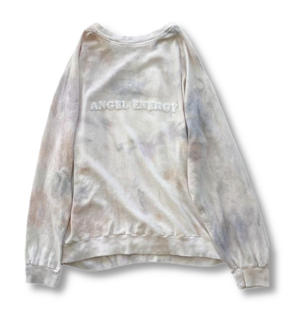 Angel Energy Embroidered Lounge Sweatshirt