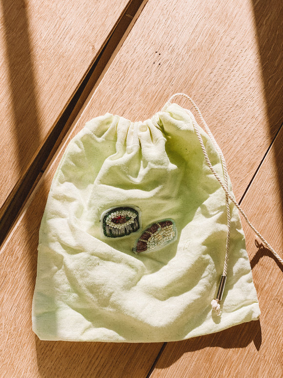 Little Sushi Drawstring Bag