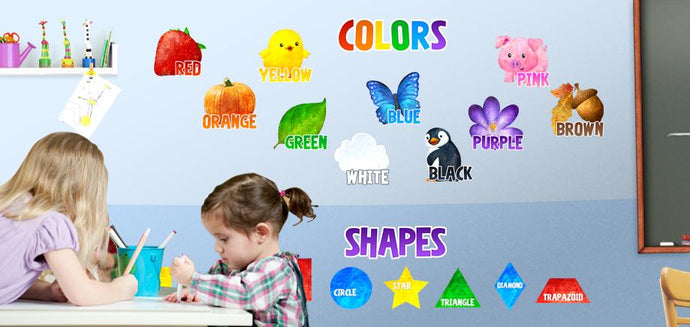 Back To School Fun with Classroom Wall Decals!