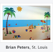 Beach Wall Stickers and Decals by Brian
