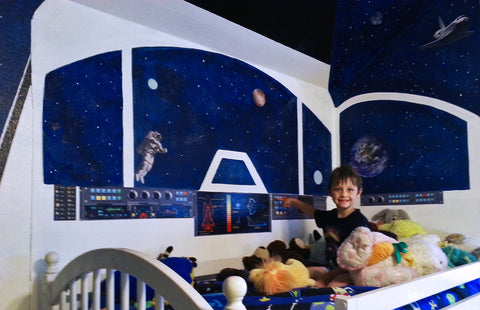 Outer Space wall stickers for kids