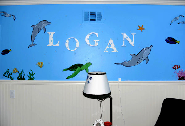 Ocean Wall Decals for a Nursery