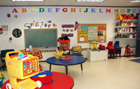 Alphabet Wall Decals for Classrooms