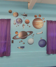 Load image into Gallery viewer, iStickUp Outer Space Removable Fabric Wall Stickers