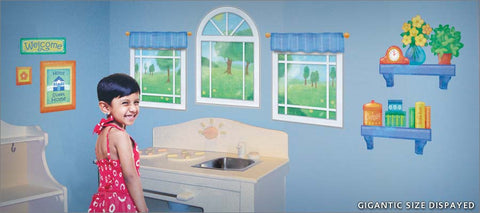 playhouse wall decals theme room - Decorate any space like a fun playhouse!