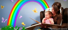 Load image into Gallery viewer, over the rainbow wall decals theme room