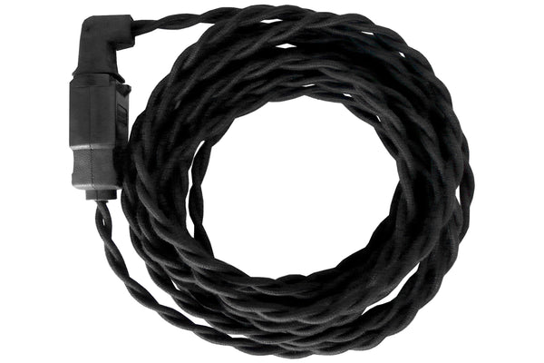Black Twisted Cord