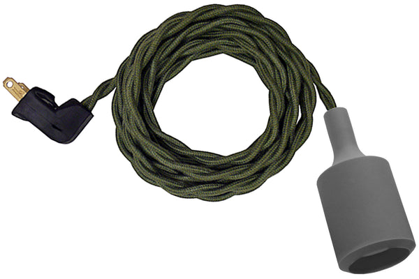 Green Twisted Cord