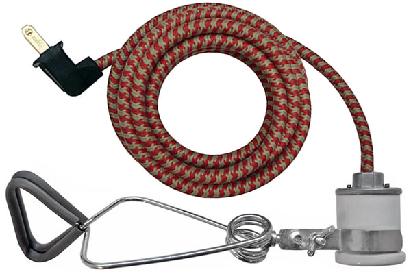 Red & Putty Houndstooth Cord
