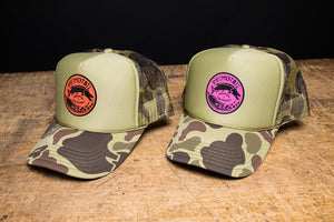 Retro-Camo Trucker Hats